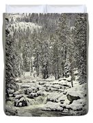 South Yuba River Duvet Cover