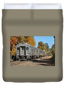 Southbound At Sloatsburg Duvet Cover