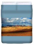 Southeastern Utah Desert Panoramic Duvet Cover