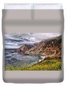 Souther California Coast Duvet Cover