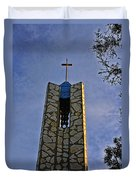 Southern California's Wafarers Chapel 1 Duvet Cover