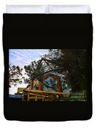 Southern California's Wafarers Chapel 2 Duvet Cover