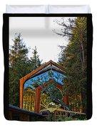 Southern California's Wafarers Chapel 3 Duvet Cover