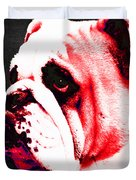 Southern Dawg By Sharon Cummings Duvet Cover by Sharon Cummings