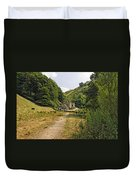 Southern End Of Wolfscote Dale Duvet Cover