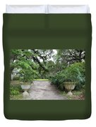 Southern Garden Welcome Duvet Cover