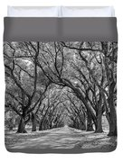 Southern Journey Bw Duvet Cover