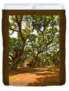 Southern Lane Paint Filter Duvet Cover by Steve Harrington