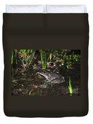 Southern Leopard Frog Duvet Cover