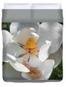Southern Magnolia Blossom Duvet Cover
