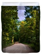 Southern Missouri Country Road I Duvet Cover
