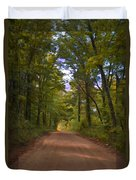 Southern Missouri Country Road II Duvet Cover