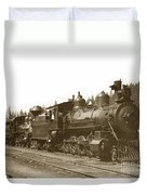 Southern Pacific Steam Locomotives No. 2847 2-8-0 1901 Duvet Cover
