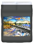 Southern River Dam					 Duvet Cover