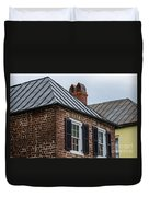Southern Rooftops Duvet Cover