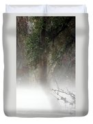 Southern Trees Have Curves Duvet Cover