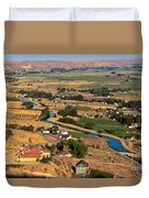 Southslope Emmett Valley Duvet Cover by Robert Bales