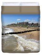 Southwold Beach Duvet Cover