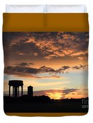 Water Towers On Southwold Common Duvet Cover