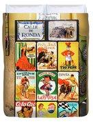 Souvenir Copies Of Old Spanish Duvet Cover