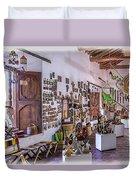 Souvenir Shop Duvet Cover