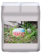 Sow Peace Reap Love Duvet Cover