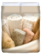 Spa Basket With Soaps Duvet Cover