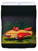 Space Patrol Two Duvet Cover