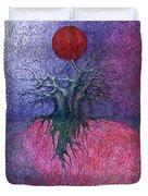 Space Tree Duvet Cover