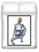 Spacegirl 8... Duvet Cover
