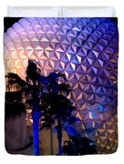 Spaceship Earth Duvet Cover