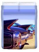 Spaceships Palm Springs Duvet Cover