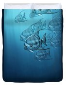 Spade Fish Duvet Cover