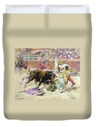Spain - Bullfight C1900 Duvet Cover