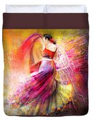Spain - Flamencoscape 12 Duvet Cover