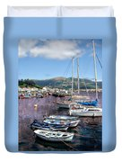 Boats In Spain Series 26 Duvet Cover