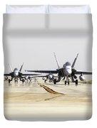 Spanish Air Force Ef-18m Hornets Duvet Cover