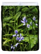 Spanish Bluebells Duvet Cover