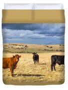 Spanish Bulls Duvet Cover