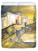 Spanish Harbour 05 Duvet Cover