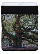 Spanish Moss Draped Limbs Duvet Cover