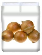 Spanish Onions Duvet Cover