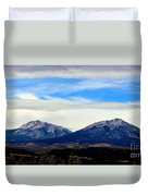Spanish Peaks Magnificence Duvet Cover