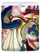 Spanish Rose Duvet Cover