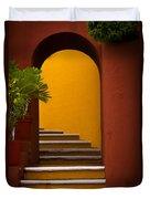 Spanish Stairway Duvet Cover