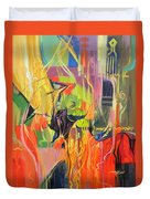 Spark Of Passion Duvet Cover