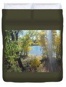 Sparkle Lake Duvet Cover