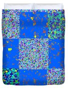 Sparkle Mandala Akaash Cosmos Pattern Bluecross Blue Cross Novino Signature   Art  Navinjoshi Artist Duvet Cover