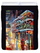 Sparkling French Quarter Duvet Cover