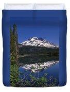 Sparks Lake Reflection Duvet Cover